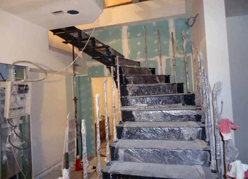 Реставрация лестницы